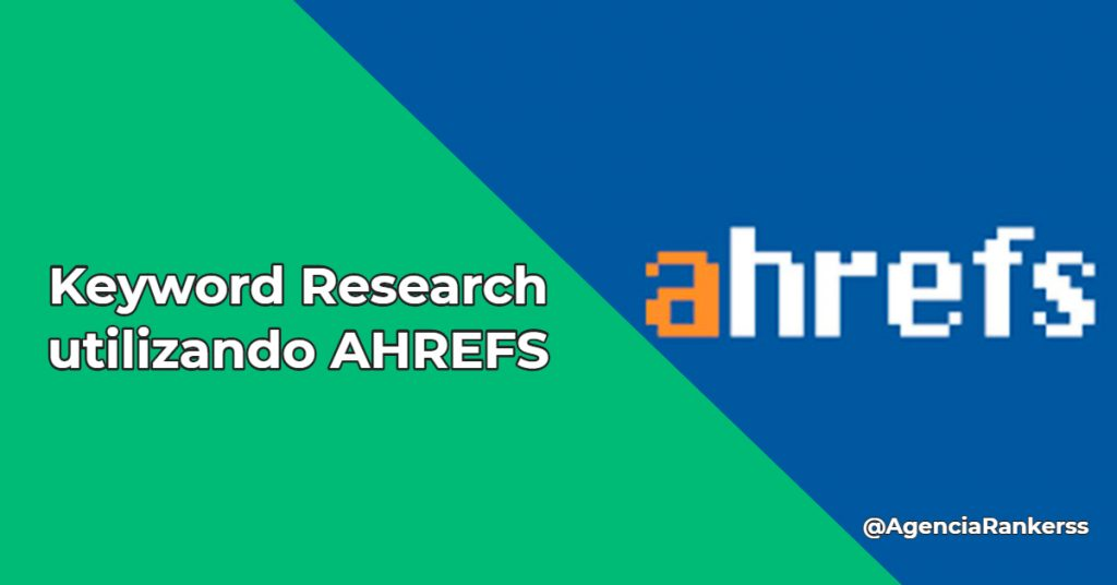 Keyword research en ahrefs